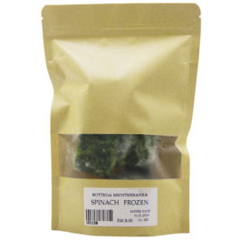 GREENS FOOD IQF GREEN SPINACH 250GR