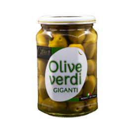 CITRES GIANT GREEN OLIVES  540GR