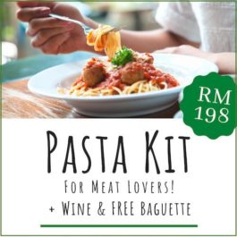 PASTA KIT FOR MEAT LOVERS