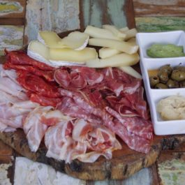 Cold Cuts & Cheese Board Platter With Pickles For 4 Pax