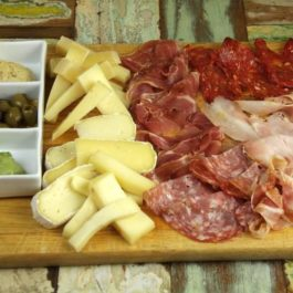 Cold Cuts & Cheese Board Platter With Pickles For 6 Pax