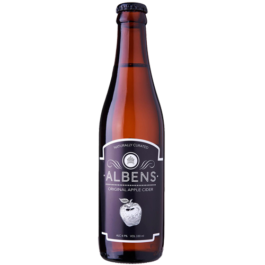 ALBEN'S CLASSIC APPLE CIDER 330ML