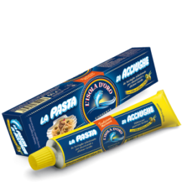 ISOLA D'ORO ANCHOVIES PASTE IN TUBE 60GR