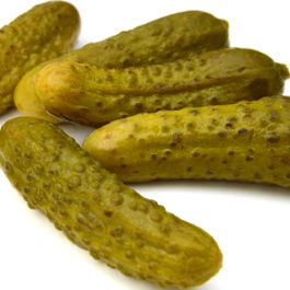 PICKLED BABY GHERKINS IN VINEGAR