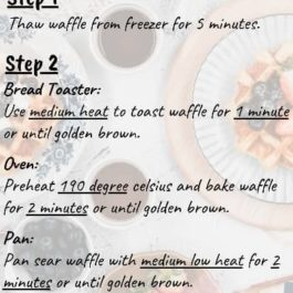 TRADITIONAL BELGIAN WAFFLE 1PKT 10 PIECES (FROZEN)