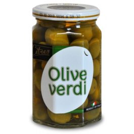CITRES GIANT GREEN OLIVES 590GR