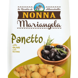 NONNA MARIANGELA PANETTO SNACK WITH OLIVES 40GR