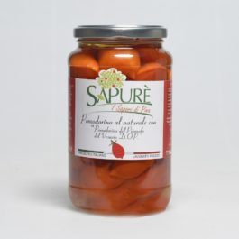 SAPURE' PIENNOLO TOMATOES IN WATER 530GR