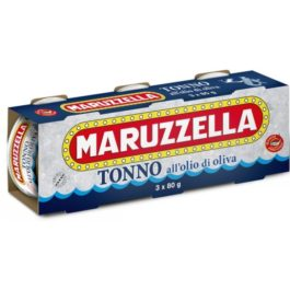 MARUZZELLA TUNA IN OLIVE OIL 80GRX3