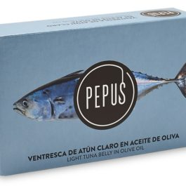 PEPUS BONITO DEL NORTE TUNA IN OLIVE OIL 120GR