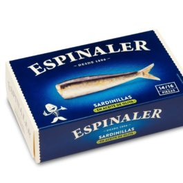 ESPINALER SARDINERS IN TOMATO SAUCE 125GR